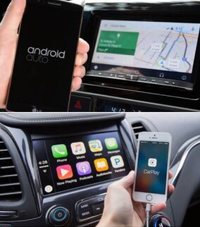ANDROID AUTO & APPLE CAR PLAY - Click Here