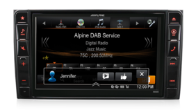Alpine X800D Mercedes Vito 447 - 8″ DAB+/DVD/USB/HDMI/Bluetooth Advanced Navi Station